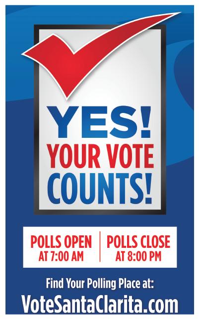Vote Santa Clarita 2016