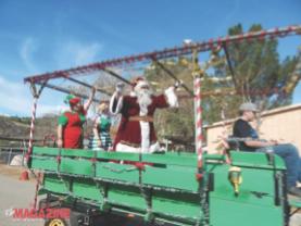 The Holiday Hoedown with Santa at the Farm!