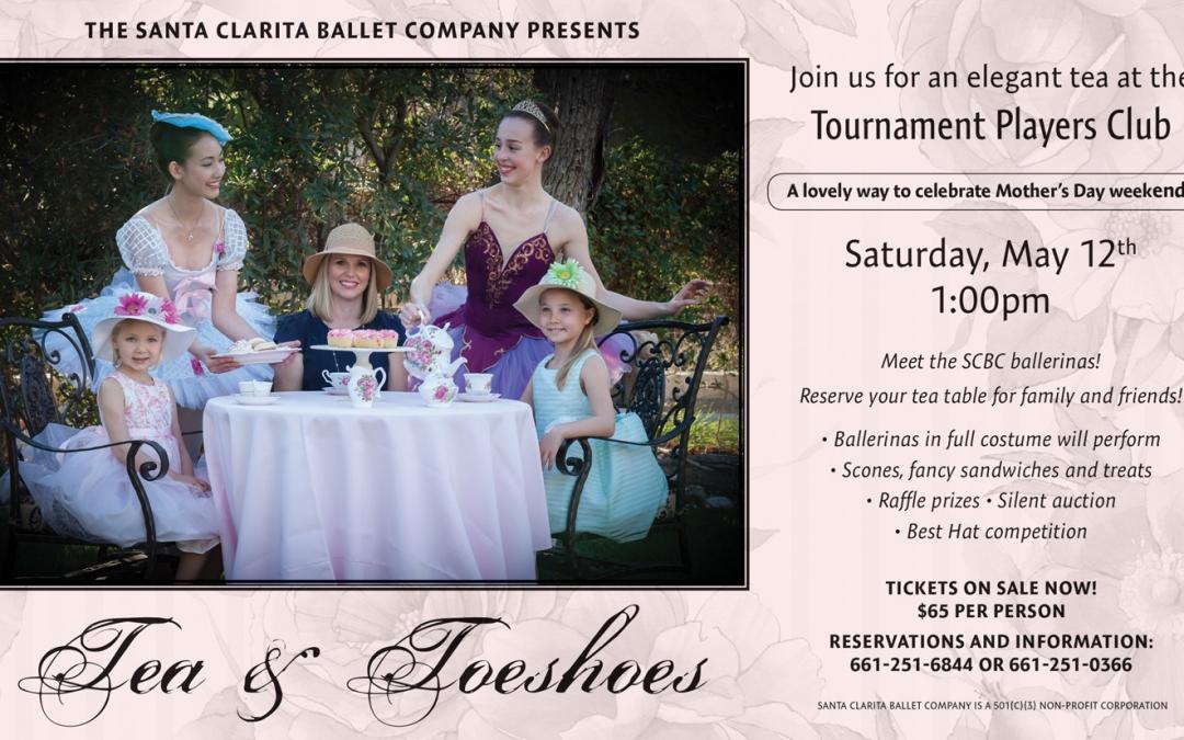 Santa Clarita Ballet's Tea & Toeshoes – A Delightful Mother's Day Tea – Valencia TPC
