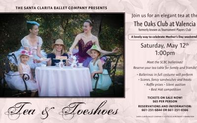 Santa Clarita Ballet's Tea & Toeshoes A Delightful Mother's Day Tea