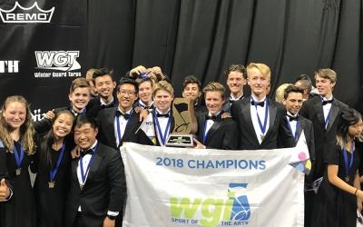 West Ranch Percussion Ensemble Wins World Championship