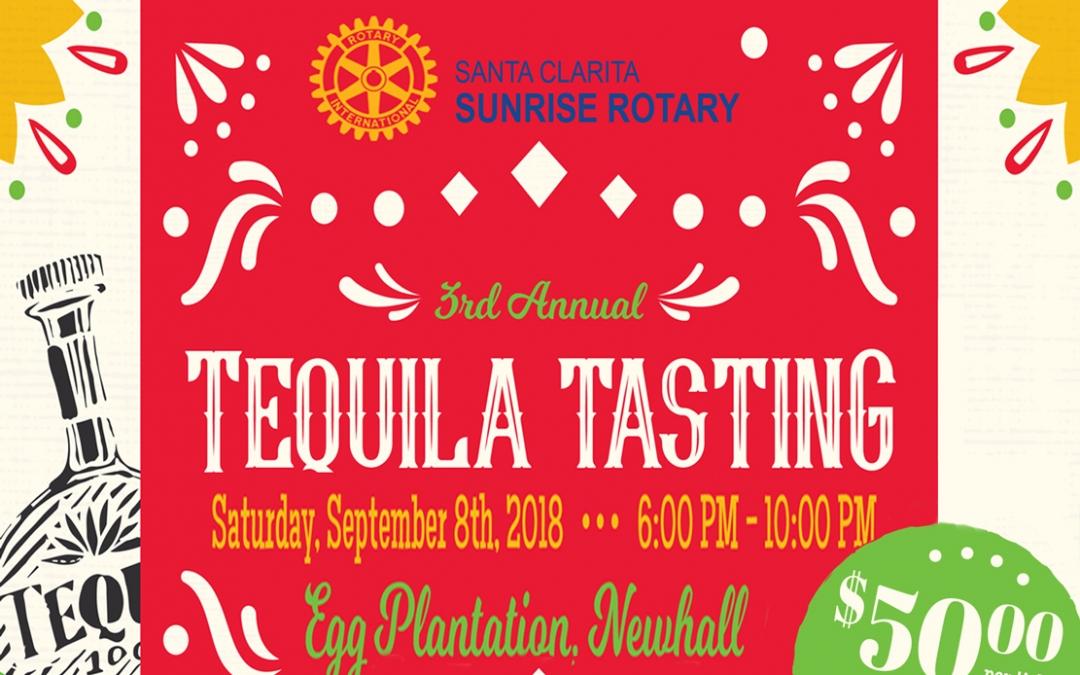 Santa Clarita Sunrise Rotary Club Tequila Tasting Fundraiser